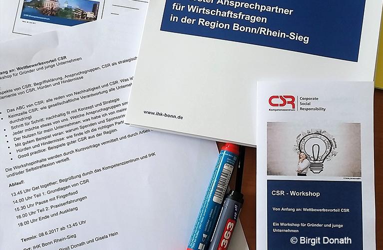 csr workshop fr grnder - Csr Beispiele