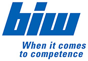 Logo BIW Isolierstoffe, Text: When it comes to competence